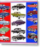 15 Cadillacs The Poster Metal Print