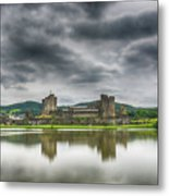 Caerphilly Castle North View 1 Metal Print