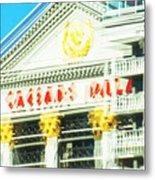 Caesar's Palace Hung Over View Metal Print