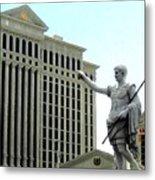 Caesars Palace Metal Print