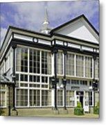 Cafe At The Pavilion Gardens - Buxton Metal Print