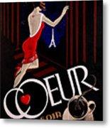 Cafe Coeur 1 Metal Print
