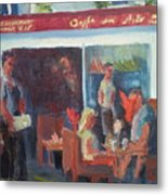 Cafe Dell Arte Metal Print