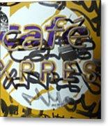 Cafe Express Metal Print