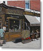 Cafe Moutarde Metal Print