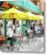 Cafe Pizzaria Metal Print