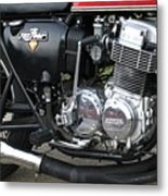 Cb750 Cafe Racer Metal Print