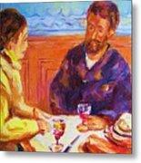 Cafe Renoir Metal Print