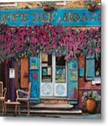 caffe del Aigare Metal Print