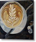 Caffe Vero Cappie Metal Print