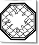 Caged 1 Metal Print