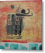Caged Metal Print