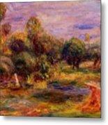 Cagnes Landscape 1908 Metal Print