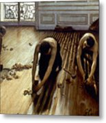 Caillebotte: Planers, 1875 Metal Print