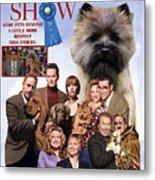 Cairn Terrier Art Canvas Print - Best In Show Movie Poster Metal Print