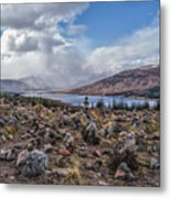 Cairns Of Loch Loyne Metal Print