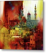 Cairo Egypt Art 01 Metal Print