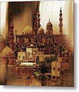 Cairo Egypt Art 03 Metal Print