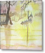 Cajun Sunrise Metal Print