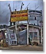 Calabash Bait Shop Metal Print by Corky Willis Atlanta Photography