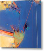 Calculating Points Metal Print