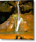 Calf Creek Falls Utah Metal Print