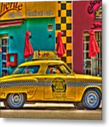 Caliente Cab Co Metal Print