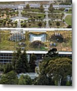 California Academy Of Sciences Living Roof In San Francisco Metal Print
