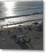 California Carlsbad Beach Almost Sunset Metal Print