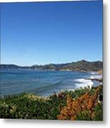 California Coast Line - Pismo Beach Metal Print