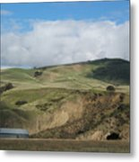 California Countryside Photograph Metal Print