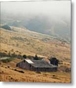 California Homestead - Rural Scene Metal Print