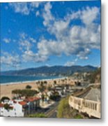 California Incline Palisades Park Ca Metal Print
