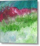 California Landscape- Expressionist Art By Linda Woods Metal Print