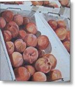 California Peaches Metal Print