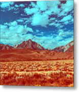 California Postcards One Metal Print