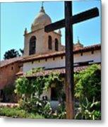 California Spanish Mission Metal Print