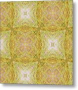 California Spring Oscillation Pattern Metal Print