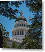 California State Capital Metal Print