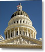 California State Capitol Cupola Metal Print