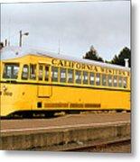 California Western Railroad Motorcar M300 Fiort Bragg California Metal Print