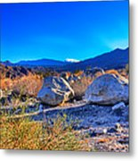 California Wilderness Panorama Metal Print