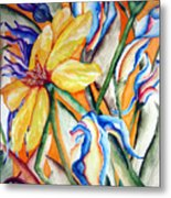 California Wildflowers Series I Metal Print