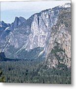 California: Yosemite Valley Metal Print