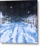 Call Out The Plows Metal Print