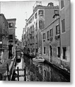 Calle A Venezia Metal Print