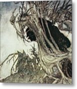 Calling Shapes And Beckoning Shadows Dire Metal Print