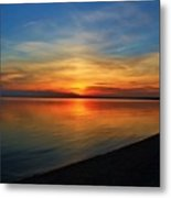 Calm After The Sun Goes Down Metal Print