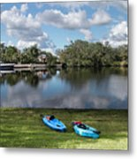 Caloosahatchee Kayaking Metal Print