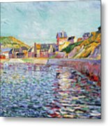 Calvados Metal Print by Paul Signac
